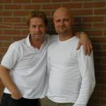 Bert en Tony Neef (foto Nathalie Pobandt)