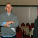 Bert en initiatiefnemer Hans Ballast