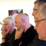 met Frans Többen, Henk Jumelet en Pieter Planting